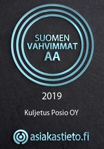Kuljetus Posio Oy - Suomen vahvimmat AA